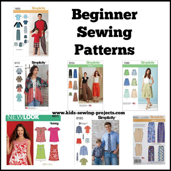 beginner sewing patterns