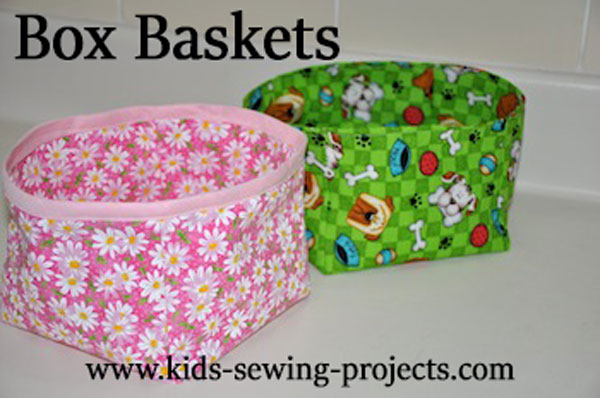 cloth basket boxes