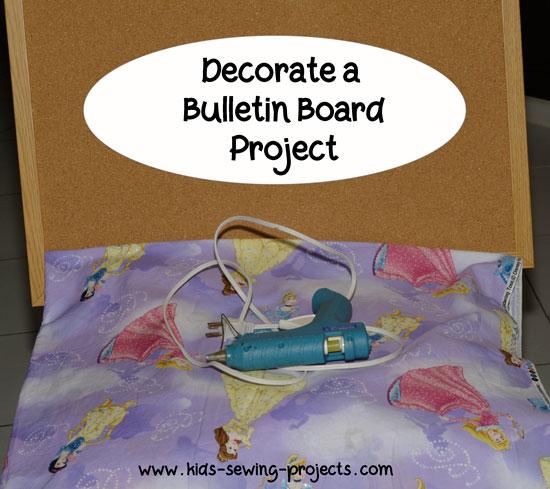 bulletin board set up