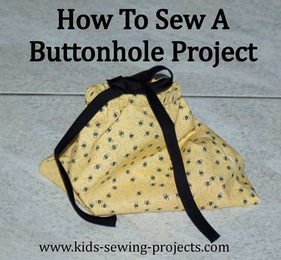how to sew a buttonhole project
