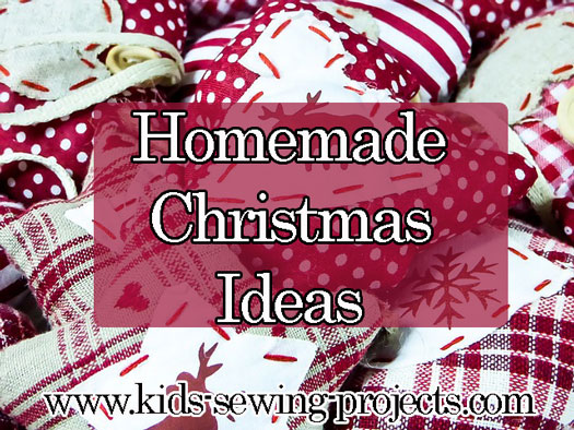 homemade christmas sewing ideas