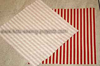 material with interfacing