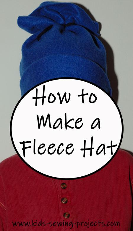 fleece hat project