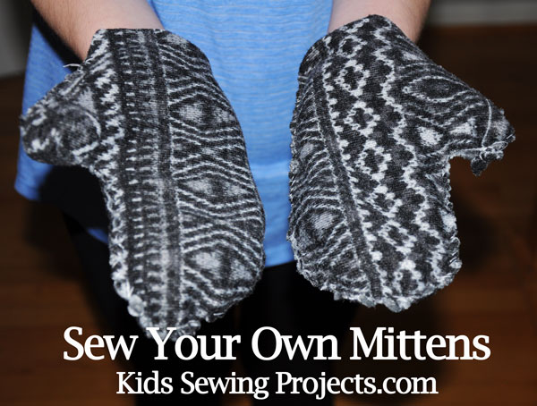 sew your mittens