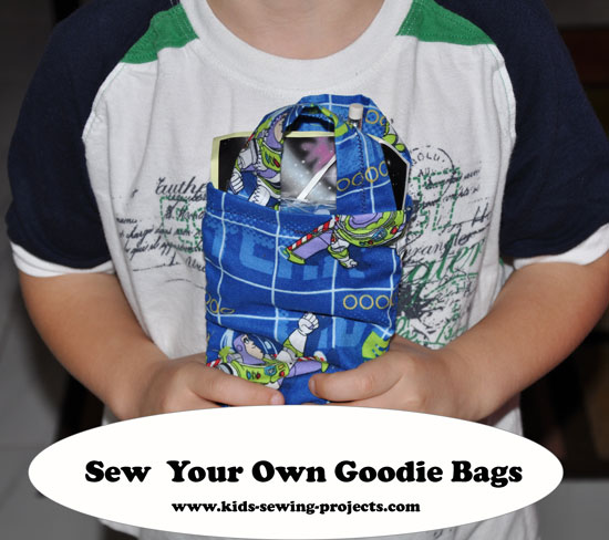 sew goodie bags project