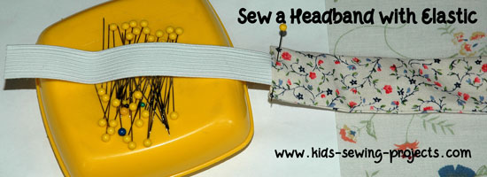 headband with elastic bottom