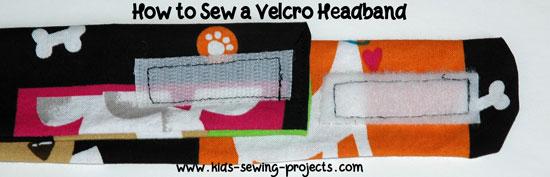 headband with velcro
