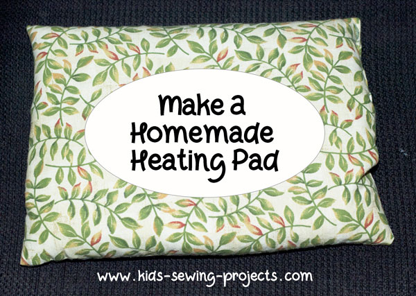 heating pad sewing project