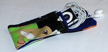ipod holder sewn
