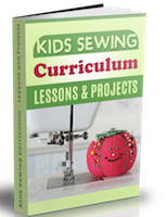 kids sewing curriculum ebook
