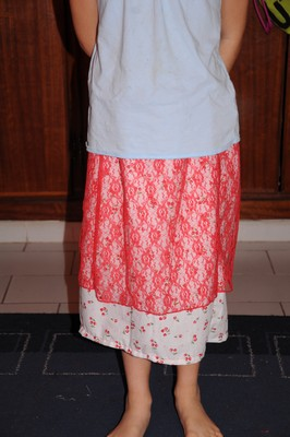 skirt layered