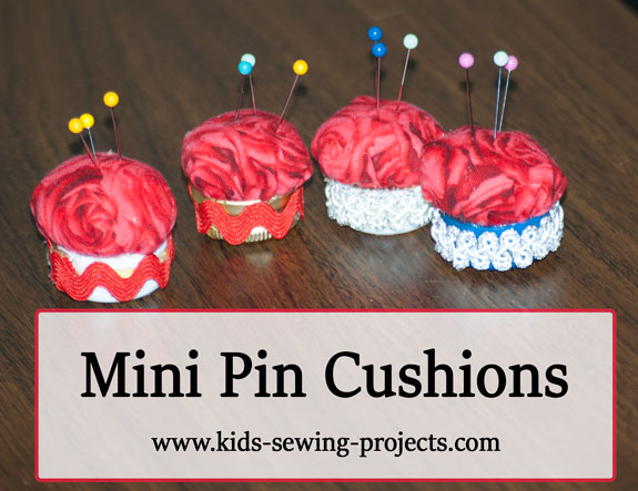 pin cushion caps