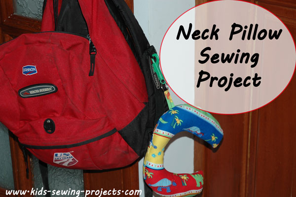 neck pillow project