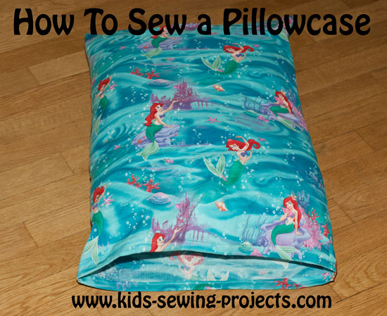 pillow case sewing