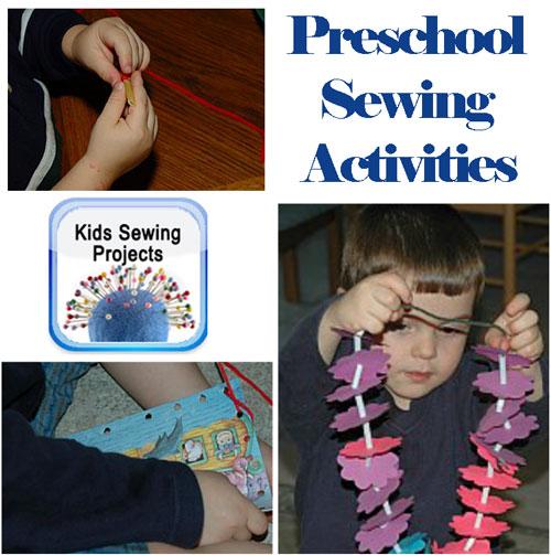 preschool sewing