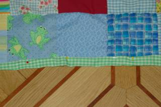 finish edges on quilt