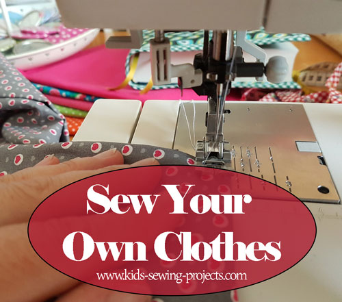 Learn how to your own Clothes