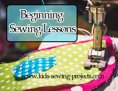 sewing machine beginning sewing lessons