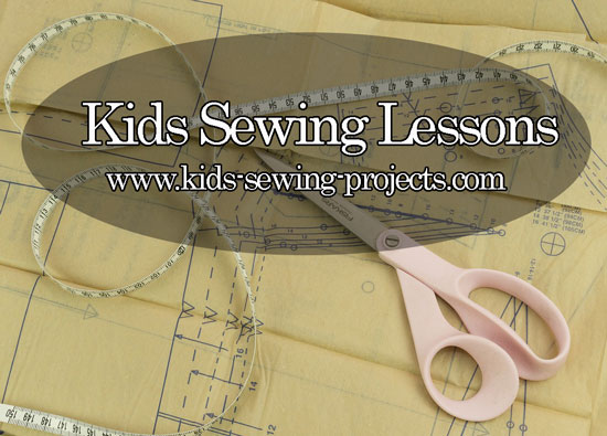 kids sewing patterns and lessons