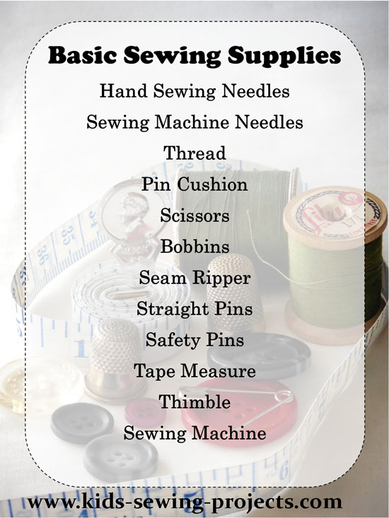 basic sewing supplies list