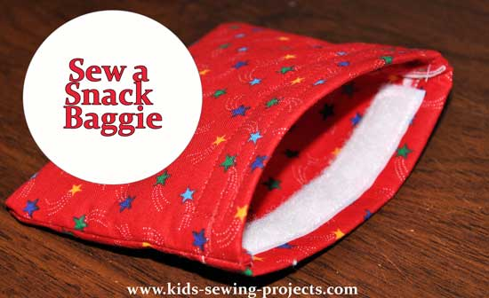 sew snack baggie project