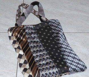 tie bag with handles