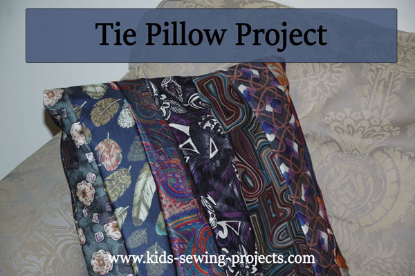 tie pillow project