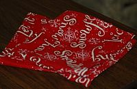 Christmas cloth dinner napkins