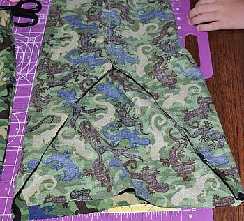 shorts sewing inside seams