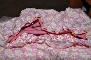 gathering skirt