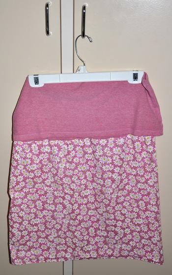 finshed yoga skirt