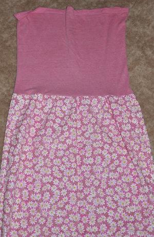 sewn top to bottom