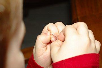 threading a needle