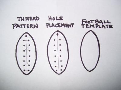 Make a football!