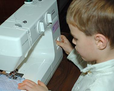 back stitch on sewing machine