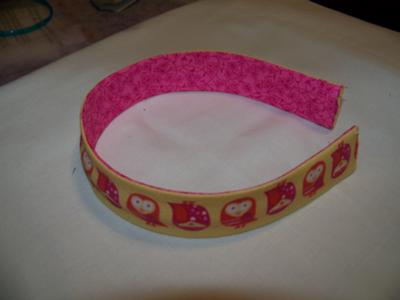 Finished Headband!