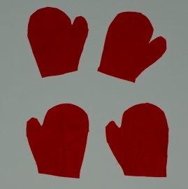 felt hands