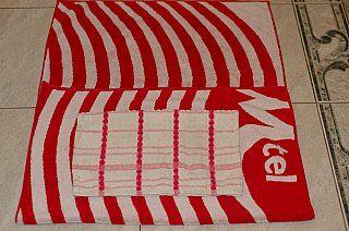 fold beach towel