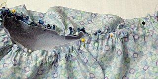 pin gather skirt