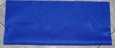 pin sides of pencil case or felt organizer