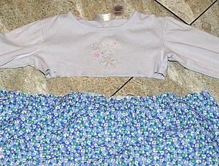 shirt into skirt