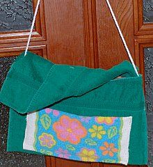 smaller towel bag