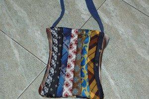 tie bag with handle