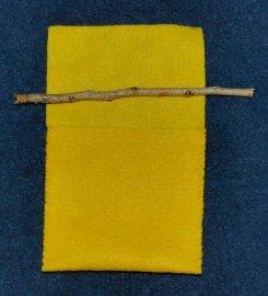 treasure bag with stick