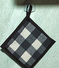 hanging potholder