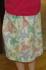 pillowcase skirt done