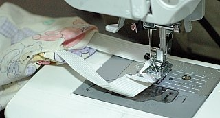 pillowcase sewing elastic