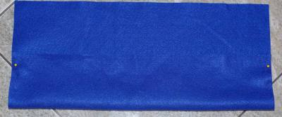pin sides of pencil case or felt organizer