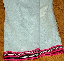 Ribbon pants done