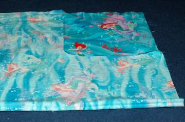 Right Sides together making a pillowcase